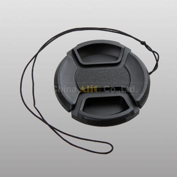 Wholesale-5PCS Camera Lens Cap 49mm 52mm 55mm 58mm 62mm 67mm 72mm 77mm 82mm the Size Provide Buyer Choose