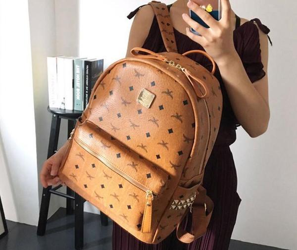 top popular High Quality 2018 men Backpack women's Backpack lady backpacks Bags Fashion Women Men School Bags 2019