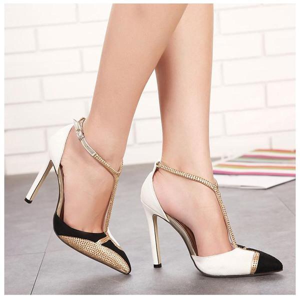 2018 New Luxury Champagne Color Rhinestone Fashion High Heels Sandals Wedding Bridemaid Stiletto Heel Dress Shoes Australia 2020 From Facai8866, AU