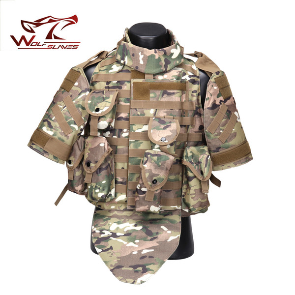 Interceptor OTV Tactical Vest Combat Protective Armor with Pouch/Pad USMC Airsoft Molle Assault Plate Carrier