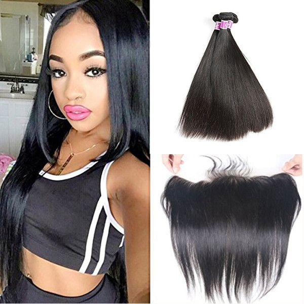 Top Quality Raw Hair Virgin Hair With 413frontal 10a Grade 100