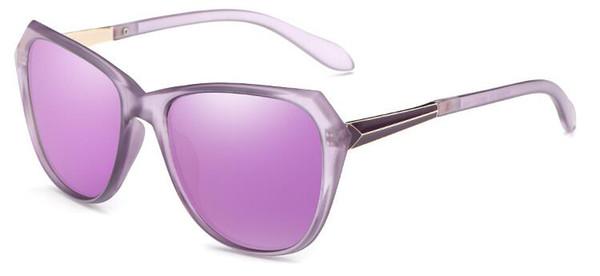 Neue Sonnenbrille Ma'am Polarisierte Licht Sonnenbrille Europäischen Rahmen Mode Sonnenbrillen Außenhandel Gläser oculos de sol gafas