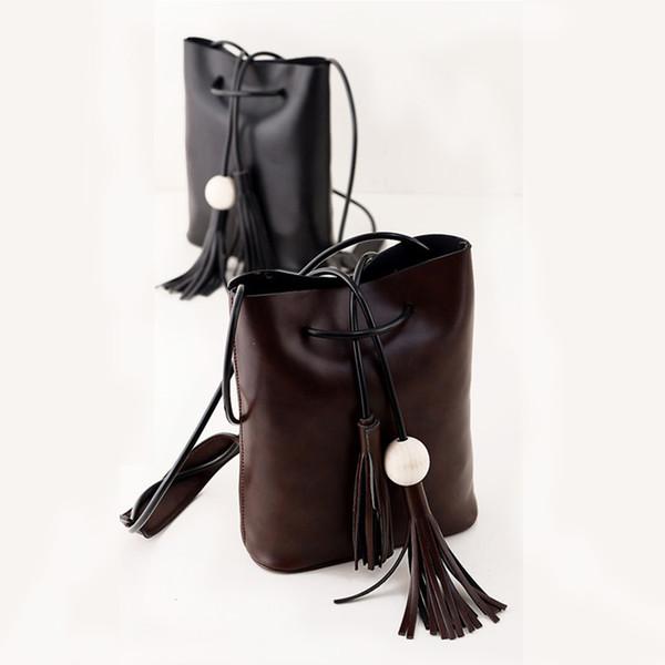 Wholesale-Women bag fashion women shoulder bag leather handbag simple luxury crossbody female cross body bag best price + free shipping !