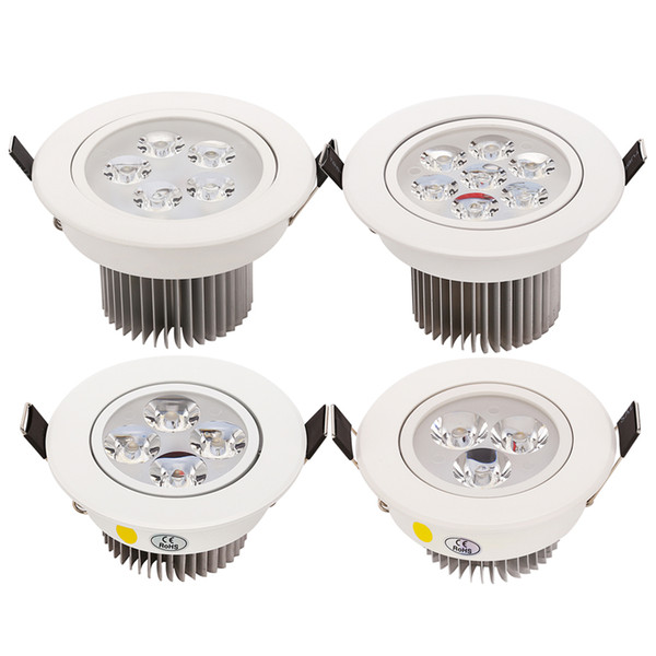 9W 12W 15W 21W Dimmable LED Recessed Cabinet Wall Spot Down light Ceiling Lamps For Home Lighting AC 110-240V