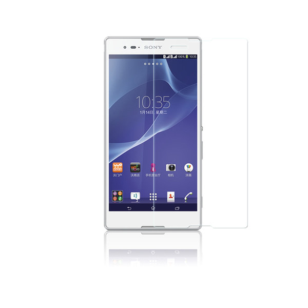 9H 0.26mm HD Premium Tempered Glass para Sony Xperia E4G / M4 / M5 / C3 / C4 / S39H / M2 / Z / S36H / Z5 / Z5Compact 300pcs / lot