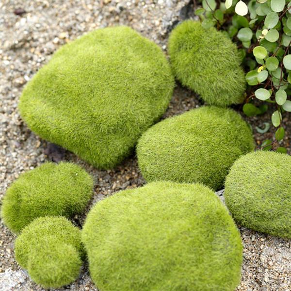 6pcs Moss Landscaping Crafts Fairy Garden Miniatures Succulent Gnomes Bonsai Tools terrarium Dollhouse Ornament Aquarium Jardin Home Decor