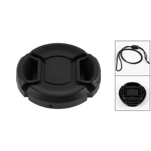 Wholesale-2015 Hot Univeral 37mm Center Pinch Front Lens Cap for DSLR Camera