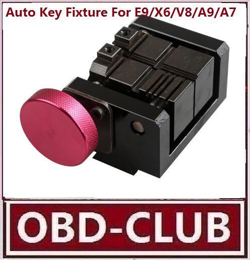 Automatic Key Cutting Fixture For E9/X6/V8/A9/A7/A5 cutting machine Auto Car key clamp cut automatic Key