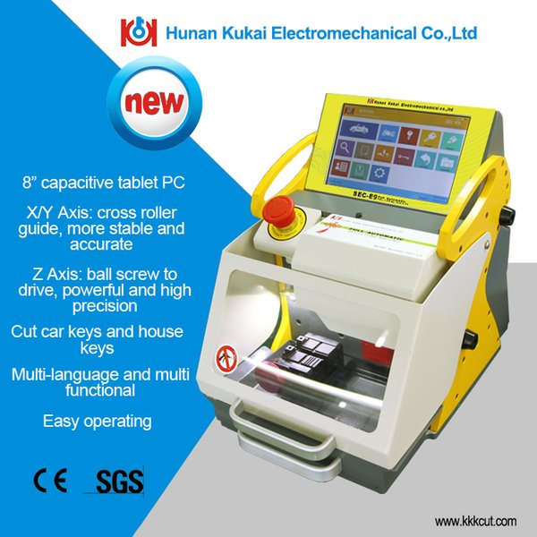 Kukai high-precision CE-certified Quality Discounted SEC-E9 Key Numerical Control Machine For Car Key Cutting Machine