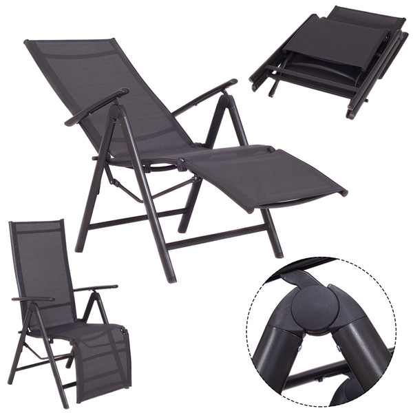 Mobilia del patio all'aperto del reclinabile della sedia di chaise del salotto pieghevole regolabile nuovo