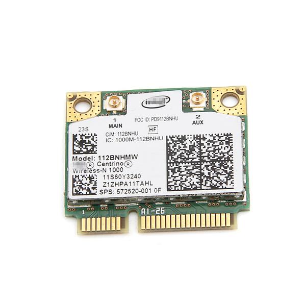 Al por mayor- Para Lenovo Intel Wireless-N 1000 112BNHMW 300Mbps Wifi Media Mini tarjeta PCIe 802.11b / g / n 60Y3240 para Thinkpad L410 L510 SL510 X201
