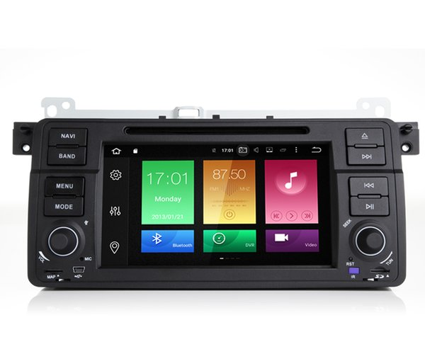 """7"""" Touch Screen 8Core Android 8.0/9.0 System Car DVD Multimedia For BMW E46 M3 Rover 75 MG ZT WIFI 4G 4K Video BT 4.0 Phonebook RDS GPS Navi"""