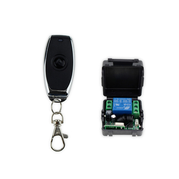 Wholesale- Free shipping DC12V 433MHz metal wireless remote control switch for door lock access control remote exit button of door key-JS