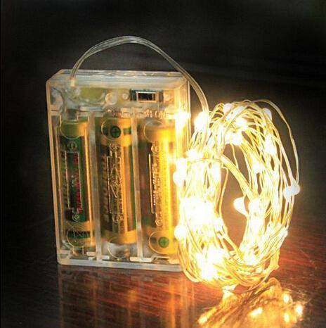 3M 30LEDs AA Battery Operated Led String Mini LED Copper Wire String Fairy Light Christmas Xmas Home Party Decoration Multicolor