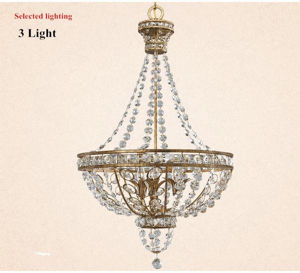 3 light W.58cm H.68cm