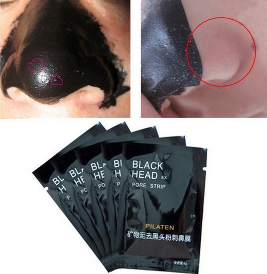 PILATEN Facial Minerals Conk Nose Blackhead Remover Mask Facial Mask Nose Blackhead Cleaner 6g Black Head EX Pore Strip DHL Free