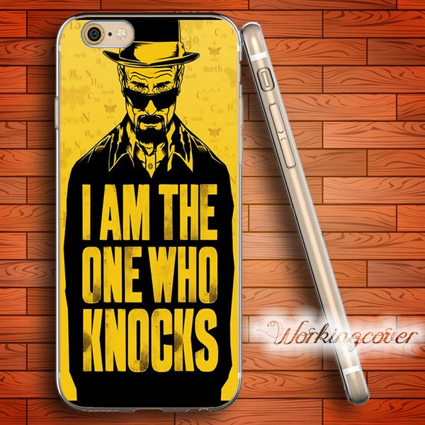 Coque Breaking Bad Heisenberg Soft Clear TPU Case for iPhone 7 6 6S Plus 5S SE 5 5C 4S 4 Case Silicone Cover.