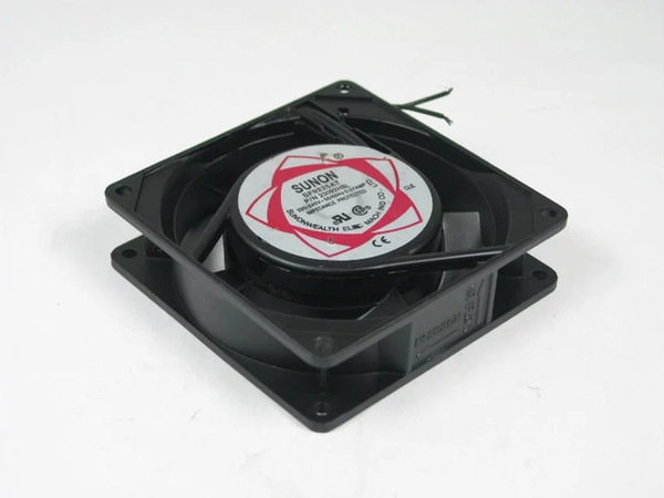 SUNON SF9225AT, P/N23092HSL AC 220V 0.07AMP 2-wire 90x90x25mm Server Square Cooling Fan