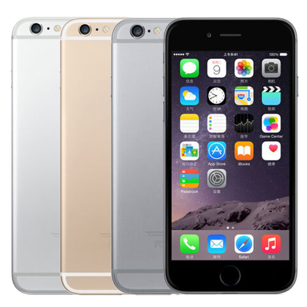 Original 4.7inch Unlocked Apple iPhone 6 with FingerPrint Dual Core 1.4GHz 8.0MP Camera 3G WCDMA Refurbished Cellphone Mobile phone