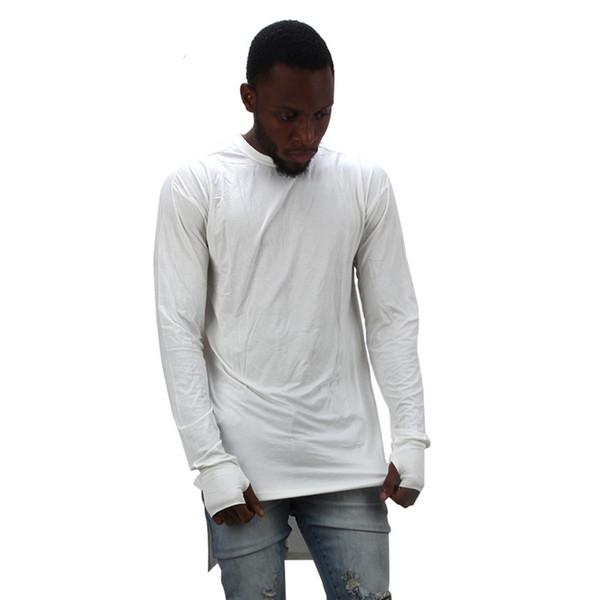 extend hip hop street T-shirt wholesale fashion brand t shirts men summer long sleeve oversize design hold hand