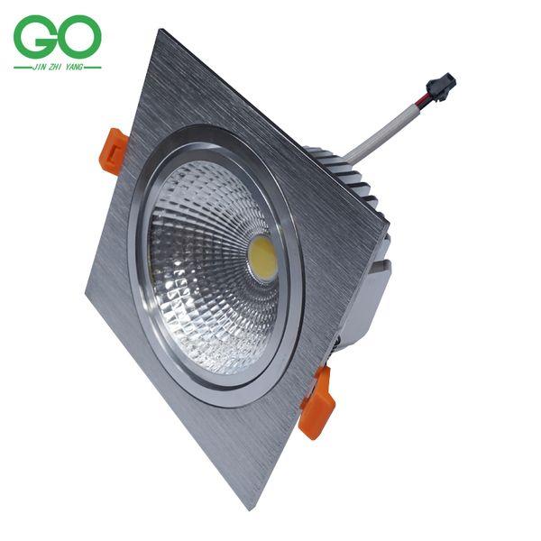 LED Square Downlight 12W 85-265V Dimmable/Non-dimmable Recessed Spot Light 110V 120V 220V 230V 240V Decoration Wall Ceiling Down Lights