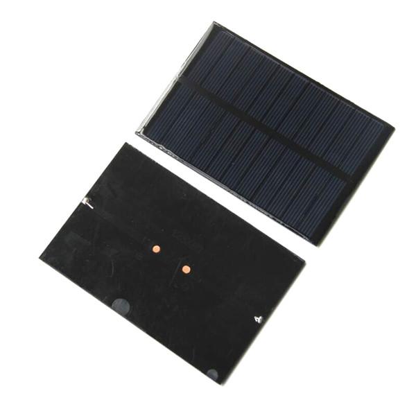 Módulo de célula solar 1.8W 5.5V Policristalino DIY Cargador de panel solar Systm para 3.7v Batttery LED Light 123 * 83 * 3MM