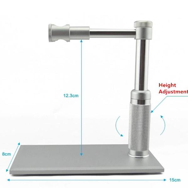 Freeshipping 1- 500x Zoom 2MP HD USB Digital Microscope 8 LED Electronic Video Camera Electron Pen Endoscopio Magnifier per la riparazione del circuito