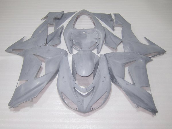 Aftermarket body parts fairing kit for Kawasaki ninja ZX10R 06 07 white injection mold fairings set ZX10R 2006 2007 OT34