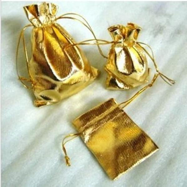 Gold and silver cloth bag/ gift bags/ jewelry bag/candy hi egg bags/goodie bags 5*7cm 7*9cm 9*12cm 10*15cm 13*18cm 15*20cm 20*30cm