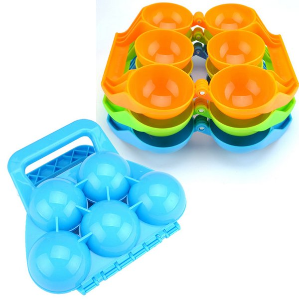 Play with snow toys Snowball tools Snowball clip Snow Ball Maker Sand Mold Tool Snow fight Battle Scoop Clip Christmas gift 3/5ball