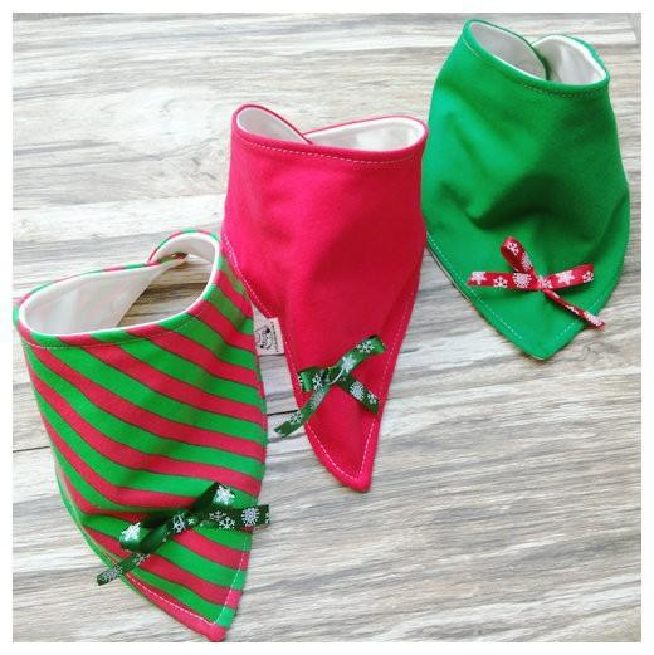 3pc/set Xmas gift Baby cotton Bibs burp Cloths Newborn double layer girls boys Waterproof Triangle Saliva Towel animal owl style bib YE010
