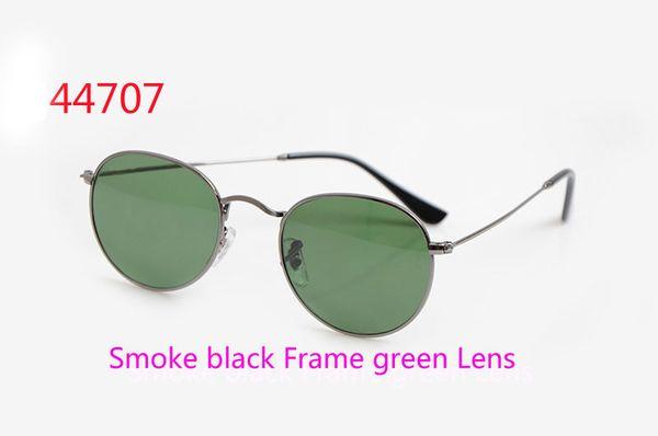 Fumo nero Lente verde