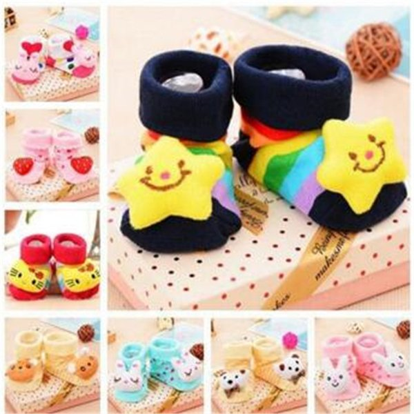 3D Cartoon Baby Kids Anti-slip Socks Boy Animal Socks Newborn Baby Boys Outdoor Shoes Infant Girls Anti-slip Walking Children Warm Sock Kid