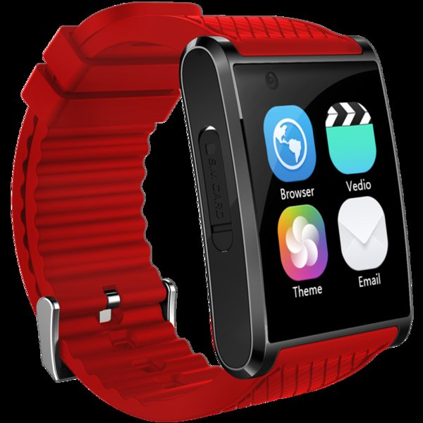 New Android smart watch GPS SOS Arc face capacitive screen 3G Business smartwatch video WIFI camera Sports Health music phone handsfree