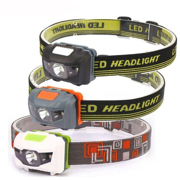 AloneFire HP30 Calidad 4 Modos Impermeable DEL LED Proyector Mini Faro o luz Principal para Montar Acampar Al Aire Libre