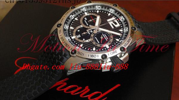 Montres de luxe NEW Men 's Classic Racing Super + Bracelet Caoutchouc Rapide T Quartz Japon Date Chronograph Montres-bracelets