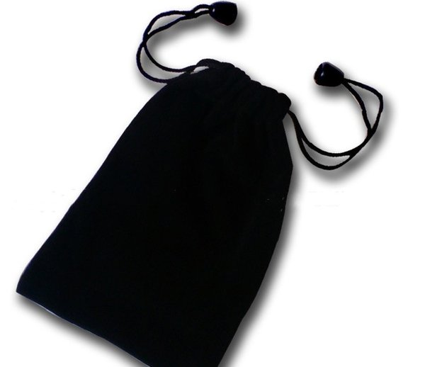 BRAND NEW BLACK Velvet Beaded Drawstring Pouches Jewelry Packaging Christmas Wedding Gift Bags 100pcs Free Shipping