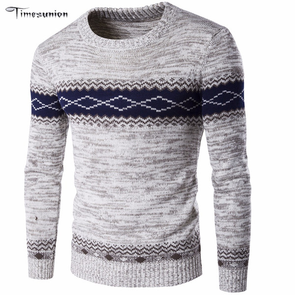 Wholesale- 2016 New Men Famous Brand Casual Sweater Fashion Clothes Homme Sudaderas Sweaters For Men