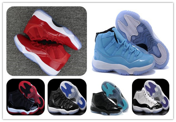 11 XI GYM RED Chicago Pantone Space jam Legend blue black Velvet 72-10 Basketball shoes Mens Sports shoes boot 11s bred Gamma woman footwear