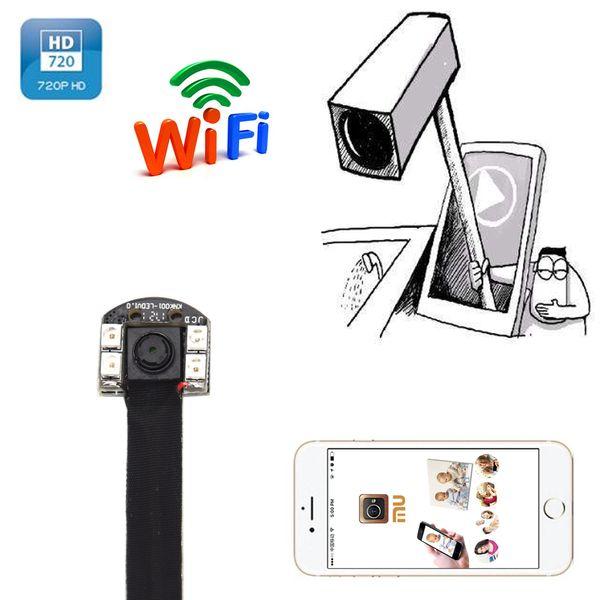 1080P HD LED lights IR Night Vision Micro Wireless Nanny Camera WIFI IP Mini Camera Module Digital Video Camera Micro DVR