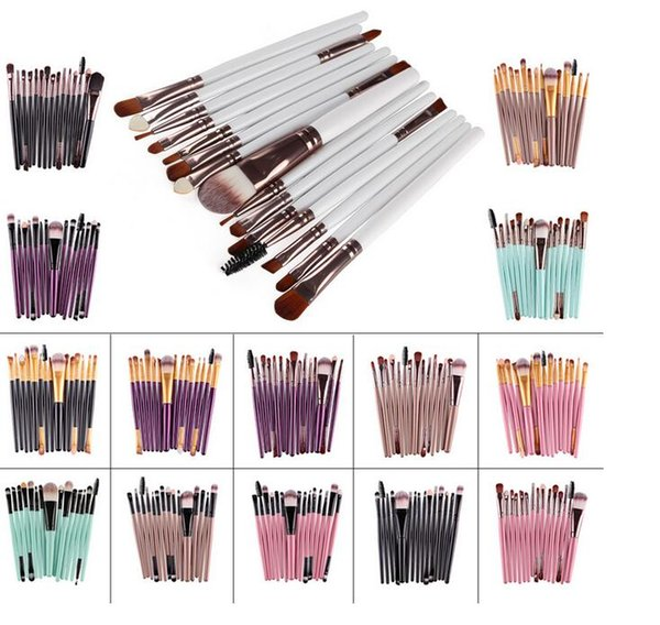 15pcs Set Cosmetisc Makeup Brushes Professional Makeup Brushes Blush Blush Make up Brush Set Makeup Tools Cheap Sale#338