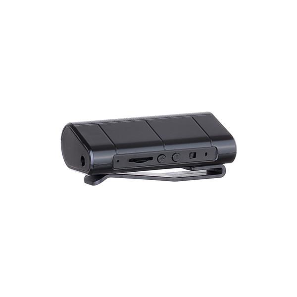 Al por mayor-Fuerte imán Profesional Grabadora de voz digital 8GB Reproductor de MP3 280 horas de tiempo prolongado de trabajo Soporte TF micro tarjeta SD de hasta 64 GB