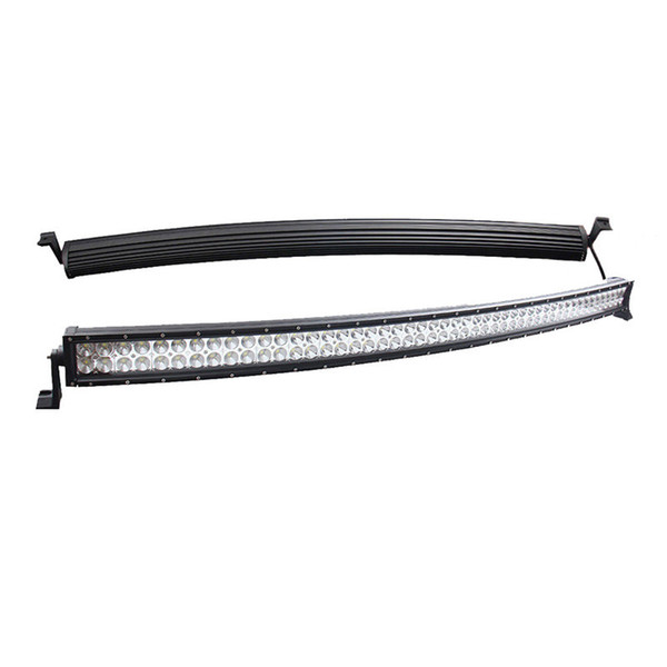52 inch 400W Curved Spot Flood Combo Beam Work Light Bar for 4WD Off-road Vehicles Truck Trailer SUV ATV UTV Wagon Boat Jeep 4X4 Ford 10-30V