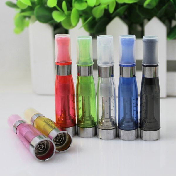 Wholesale-10pcs Newest No Wick CE5 Cartomizer,Atomizer, Clearomizer for eGo Electronic Cigarette,eGo-t,eGo-w,510 e Cigarette Atomizer