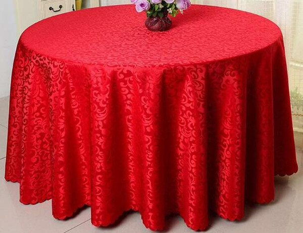 best selling Table Cloth Overlay Hotel Supplies Hotel Wedding Meeting Many Colors Tablecloth Party Round Table Sheer Meal Cloth