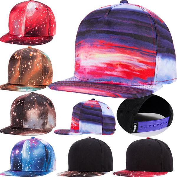topi snapback 3d print pattern sports baseball hats designer fitted