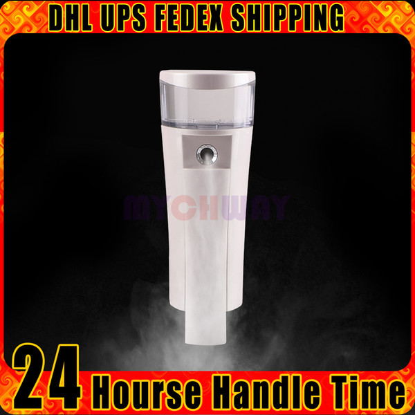 Hot! Rechargeable Nano Spray Moisturizing Hydrating Refine Oil Skin Wrinkle Acne Reduce Facial Steamer Beauty Device