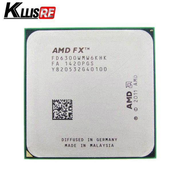 AMD FX 6300 AM3 + 3,5 GHz 8 MB di processori CPU FX con spedizione seriale gratuita di pezzi impaccati FX-6300