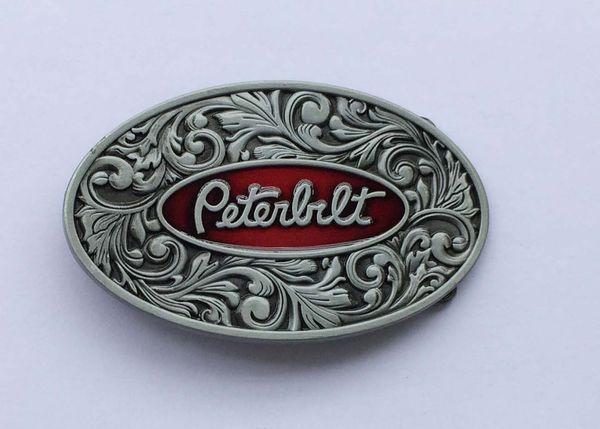 Hebilla del cinturón del camión de la flor 3D Peterbilt
