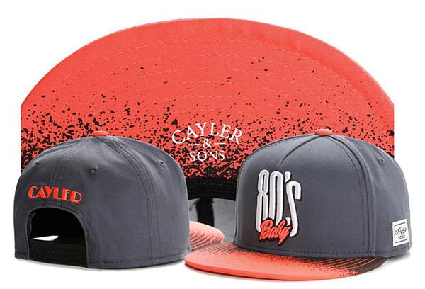 New Design top Sale Hip Hop Adjustable Snapbacks Caps For Mens Womens Quality Strapback Trucker Cap Adults Sports Cayler & Sons Hats